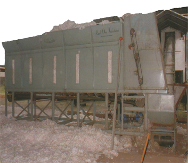 Raw Cotton Storage Box (Hot Box)
