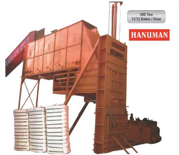 Automatic Hydraulic Cotton Baling Press